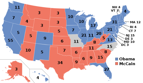 Risultati elettorali americani