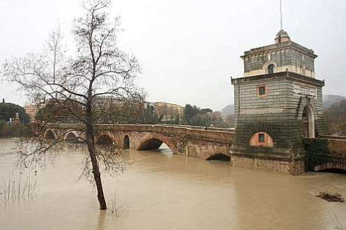 Ponte Milvio ore 10